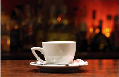 Caffeine content in black tea cup